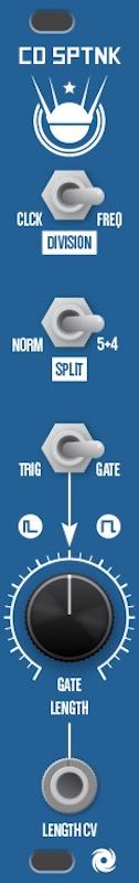 Tsyklon Labs CHAOS DIVIDER SPUTNIK Eurorack Module